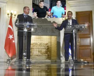 Συγχαρητήρια Τσίπρα σε Ερντογάν με… γκάζια για τους Έλληνες στρατιωτικούς!