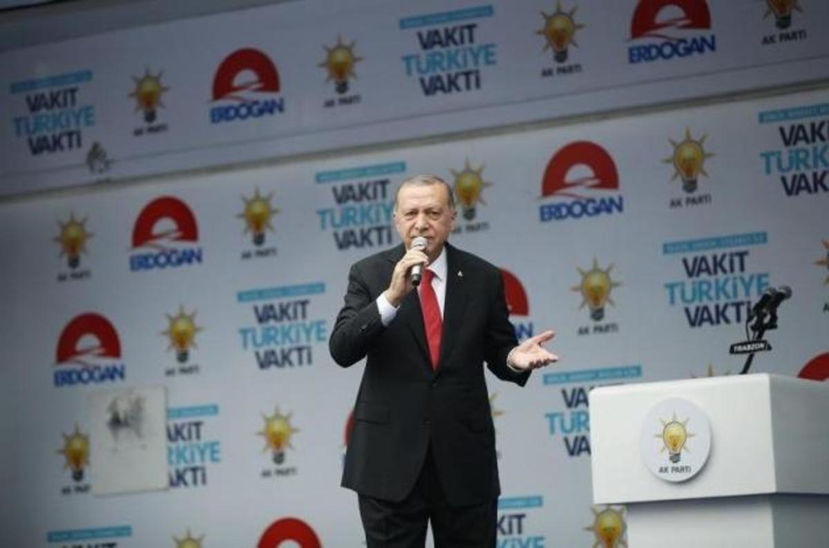 Ερντογάν: Ο Ντεμιρτάς δεν μπορεί να είναι υποψήφιος για την τουρκική προεδρία