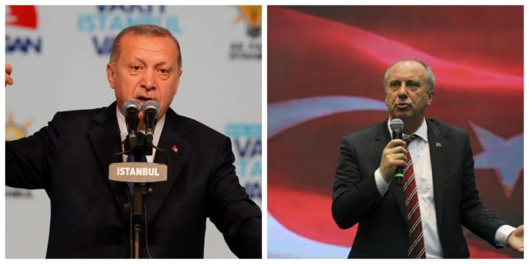 Νέα δημοσκόπηση – «πονοκέφαλος» για τον Ερντογάν – Τον κοντράρει «στα ίσια» ο Ιντζέ
