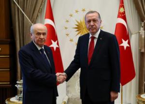 Τουρκία: Ερντογάν και Μπαχτσελί συμφώνησαν να μην παραταθεί η κατάσταση έκτακτης ανάγκης