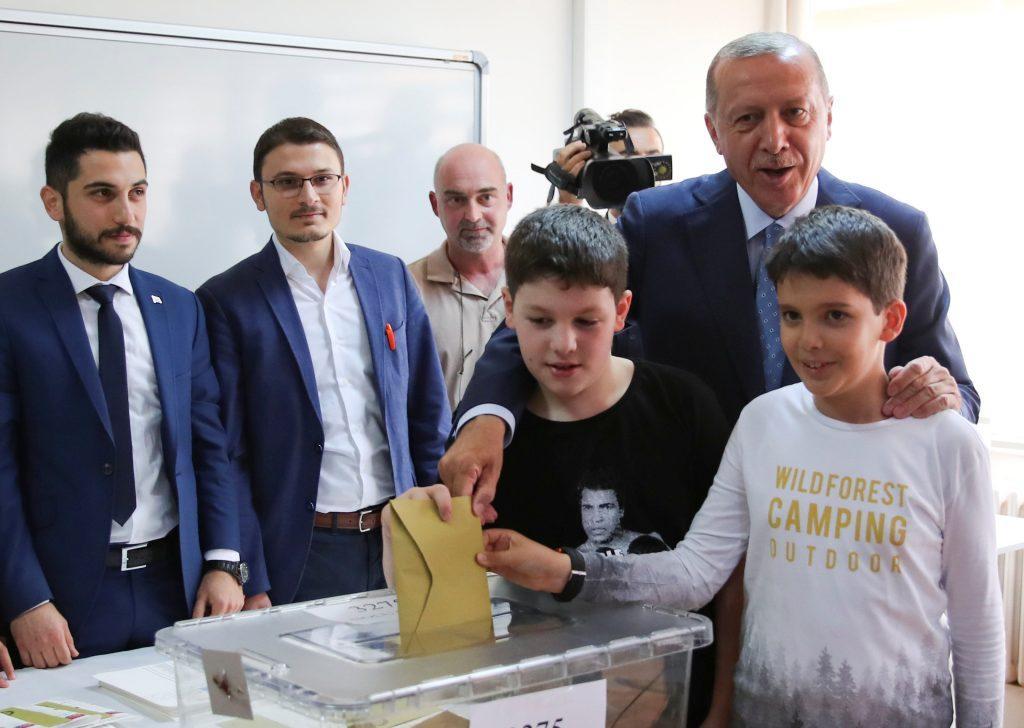 Τουρκία εκλογές Ερντογάν