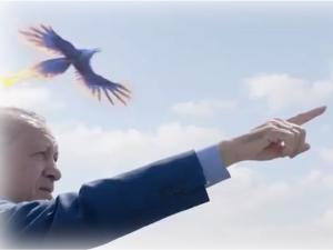 Ο Ερντογάν και ο… φοίνικας! Νέο… χολιγουντιανό προεκλογικό σποτ [vid]