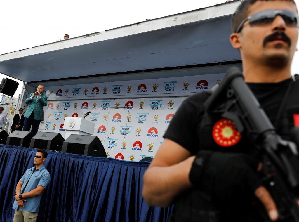 Ερντογάν Τουρκία Εκλογές Ιντζέ Κωνσταντινούπολη