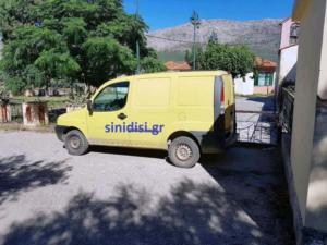Αιτωλοακαρνανία: Έκρυψαν κρυμμένο φορτηγάκι σε… προαύλιο εκκλησίας