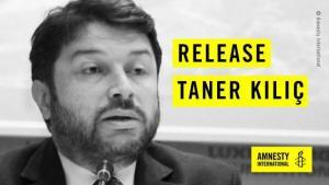 Τανέρ Κιλίτς: Κλείνει έναν χρόνο στη φυλακή ο Πρόεδρος της Διεθνούς Αμνηστίας