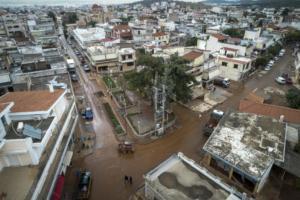 Ενίσχυση 350.000 ευρώ για τις καταστροφές από την κακοκαιρία σε Μάνδρα και Ειδυλλία