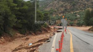 Πλημμύρες Μάνδρα: Σα να μην πέρασαν 7 μήνες! Σμπαράλια ακόμα η παλιά εθνική οδός