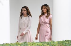 «Έκοψαν»… ανάσες Μελάνια Τραμπ και βασίλισσα Ράνια [pics, vids]