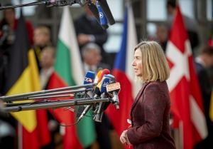 Μογκερίνι προς ΗΠΑ: Θα υπερασπιστούμε τα συμφέροντά μας