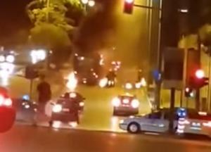 Θεσσαλονίκη: Ανάληψη ευθύνης με νέες απειλές για την επίθεση με μολότοφ σε κλούβα των ΜΑΤ – «Να τους κάψουμε»!