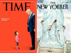 "New Yorker: Νέο εξώφυλλο ""μαχαιριά"" για τον Τραμπ"