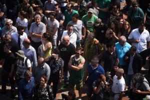 """Παναθηναϊκός: Με κόσμο η προπόνηση στο ΟΑΚΑ! """"Ντόπες"""" για το πρωτάθλημα"""