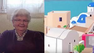 Η 87χρονη που έγινε viral για τις καλλιτεχνικές δημιουργίες της στον υπολογιστή