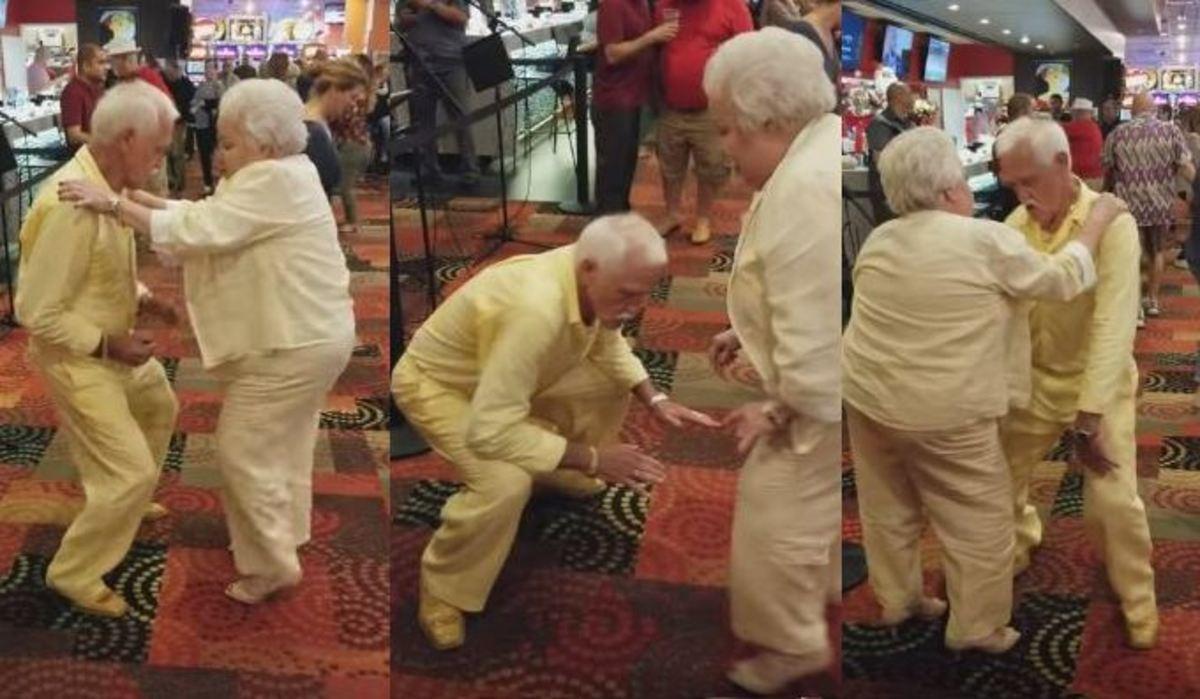 Ηλικιωμένο ζευγάρι αποδεικνύει ότι ο χορός είναι για όλους! | Newsit.gr