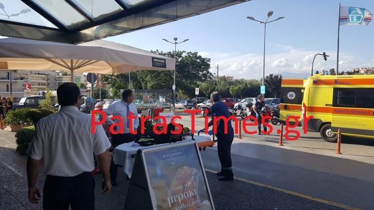 Πάτρα: Τραυματίστηκε εργαζόμενος σε σούπερ μάρκετ [vid] | Newsit.gr