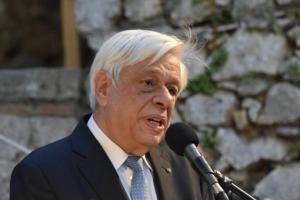 Παυλόπουλος: Οι Έλληνες, μόνον υπό συνθήκες αρραγούς ενότητας μεγαλουργήσαμε