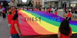 Thessaloniki Pride: Χρώμα, χορός και υπερηφάνεια στην παρέλαση [pics, vids]
