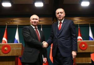 Συγχαρητήρια του Πούτιν στον Ερντογάν