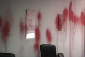 Εισβολή Ρουβίκωνα στο γραφείο καθηγητή του ΕΜΠ