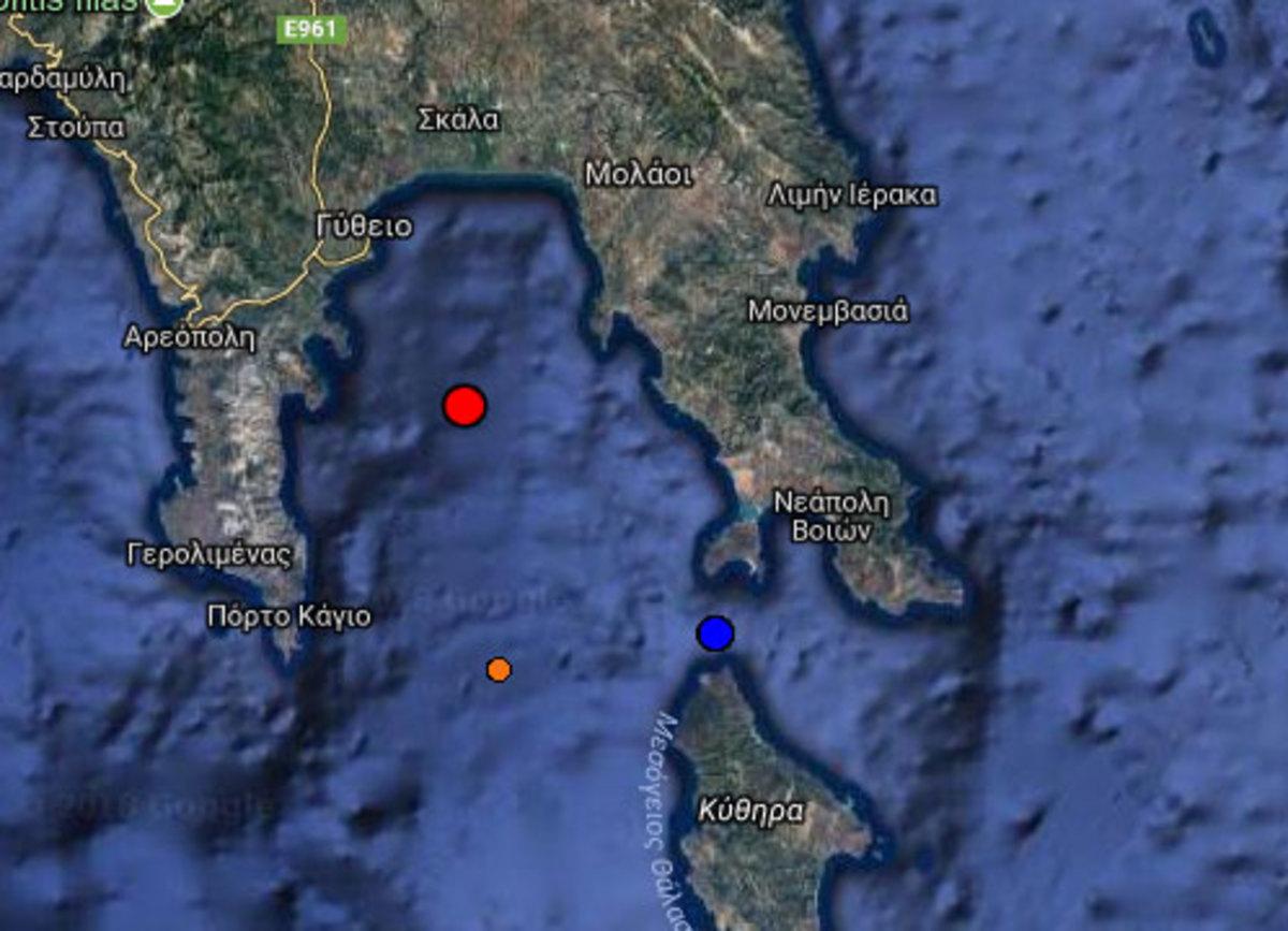 Σεισμός ΤΩΡΑ στη Λακωνία – Αισθητός στην Καλαμάτα | Newsit.gr