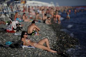 «Βούλιαξαν» οι παραλίες του Σότσι