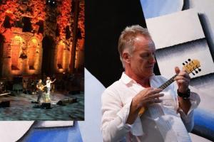 Sting: Μάγεψε το Ηρώδειο – Έπαιξε… μπαγλαμαδάκι στο Ελευθέριος Βενιζέλος! [vids, pics]
