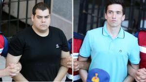 Νέες εικόνες από τους Έλληνες στρατιωτικούς – Η μεταγωγή τους στο δικαστήριο για να ακούσουν το νέο «όχι»