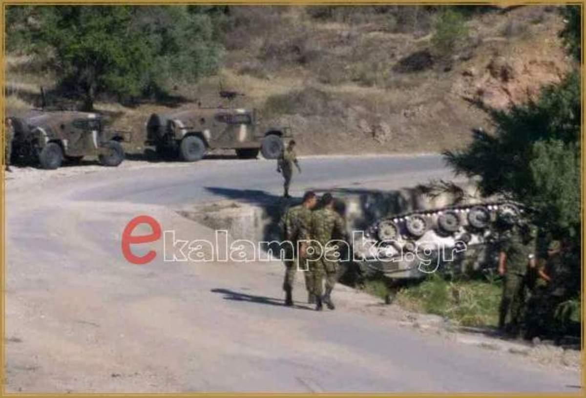 Αυτό είναι το άρμα μάχης που ανατράπηκε στην Κύπρο – Τραυματίστηκαν Έλληνες στρατιώτες [pic] | Newsit.gr