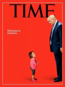 Μια εικόνα, χιλιάδες λέξεις και συναισθήματα! Το συγκλονιστικό εξώφυλλο του TIME για τον Τραμπ [vids, pics]