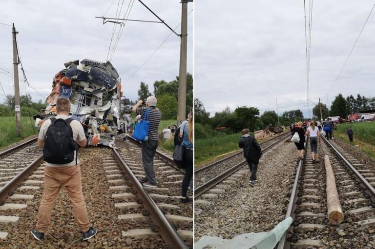 Σύγκρουση τρένου με φορτηγό στην Πολωνία – Ένας νεκρός και δεκάδες τραυματίες [pics,vid] | Newsit.gr