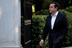 Στο Προεδρικό το μεσημέρι ο Αλέξης Τσίπρας