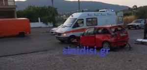 Αγρίνιο: Αυτοκίνητο έγινε σμπαράλια όταν ο οδηγός έχασε τον έλεγχο – Αυτοψία στο σημείο του τροχαίου [pics]