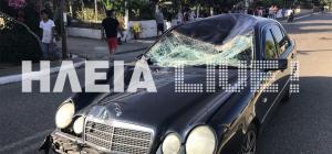 Σοβαρό τροχαίο στην Ηλεία: Άλογο έπεσε σε αυτοκίνητο με έγκυο