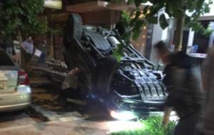 Καλαμάτα: Πάγωσαν με την ανατροπή του αυτοκινήτου – Η τρελή πορεία μέχρι το τροχαίο ατύχημα [pic, vid]
