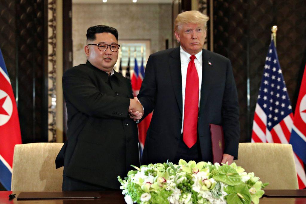 Τραμπ Κιμ Γιονγκ Ουν