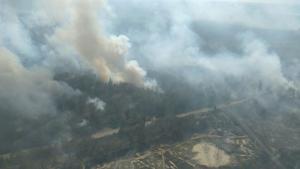 Ο τρόμος ξαναζωντανεύει – Φωτιά κοντά στο εργοστάσιο του Τσέρνομπιλ [pic]
