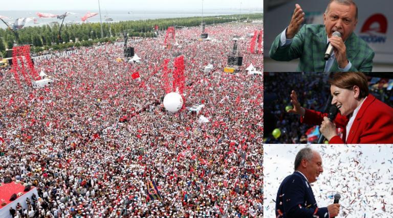 Τουρκία – Εκλογές: Σχεδόν 60 εκατομμύρια αναμένεται να ψηφίσουν! Τι δείχνουν οι δημοσκοπήσεις