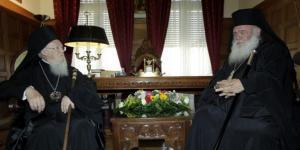 Ο Πατριάρχης Βαρθολομαίος και ο Αρχιεπίσκοπος Ιερώνυμος στην Εύβοια για την αγιοκατάταξη του Οσίου Ιακώβου Τσαλίκη