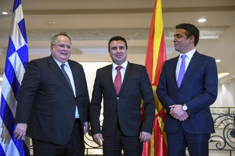Σκοπιανό: Κοινή ανακοίνωση Ζάεφ – Ντιμιτρόφ για να… ακούσει η Αθήνα | Newsit.gr