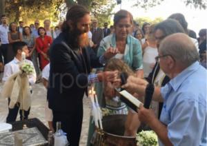 Χανιά: Βάφτιση υπερπαραγωγή με νονά την Ντόρα Μπακογιάννη – Τα χαμόγελα ευτυχίας [pics]