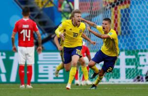Μουντιάλ 2018: Τα έχασε ο Μπεργκ το έβαλε ο Φόρσμπεργκ! Σουηδία – Ελβετία 1-0 ΤΕΛΙΚΟ