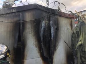 Χίος: Φωτιά σε άδειο και ασφαλισμένο οικίσκο στη ΒΙΑΛ – Εικασίες για τα αίτια που την προκάλεσαν!