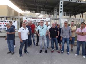 Φλώρινα: «Μπλόκο» συνδικαλιστών της ΓΕΝΟΠ στους ιδιώτες – «Δεν θα επιτρέψουμε την πώληση των μονάδων» [pics]