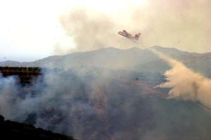 Υψηλός κίνδυνος εκδήλωσης πυρκαγιάς στο νομό Χανίων!