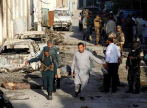 Αφγανιστάν: Έκρηξη σε κυβερνητικό κτίριο – Τουλάχιστον 15 νεκροί [pics]