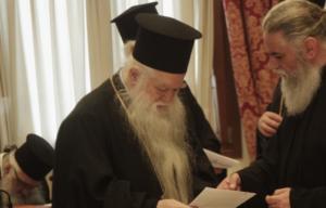"""Νικολαϊδης για Αμβρόσιο: """"Για άλλη μια φορά η εκκλησία χτυπάει το πρόβλημα στη ρίζα"""""""