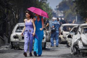 Καιρός: Εξασθενούν οι άνεμοι στην καμμένη Αττική γη – Αναλυτική πρόγνωση