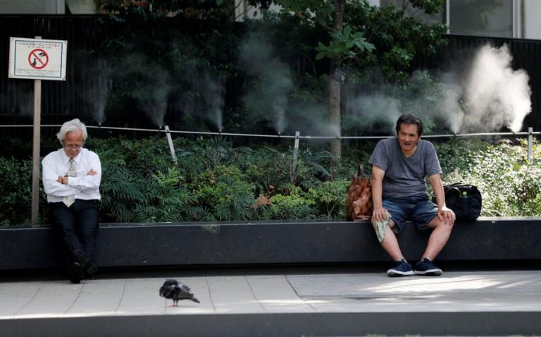 Φονικό κύμα καύσωνα στην Ιαπωνία: 80 νεκροί, 35.000 με θερμοπληξία