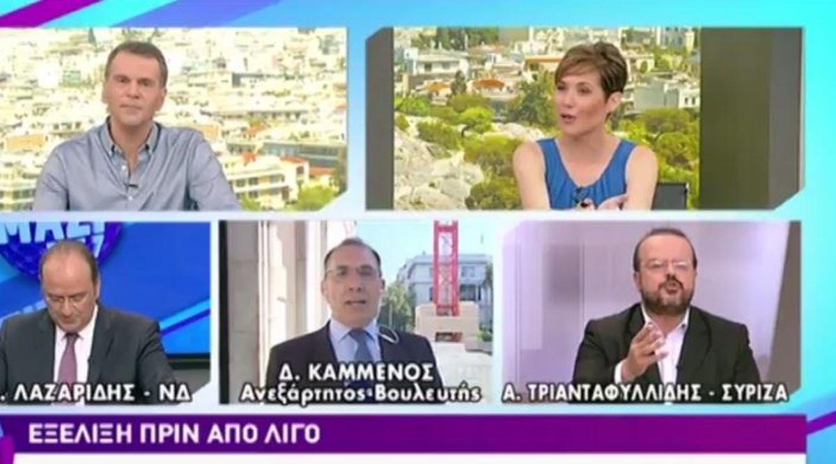 """""""Σκοτώθηκαν"""" Δ. Καμμένος – Α. Τριανταφυλλίδης για τη θέση του αντιπροέδρου"""