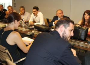 ΑΕΚ – Ολυμπιακός: Στα γραφεία της ΕΠΟ ο Χριστοδουλόπουλος [pics]